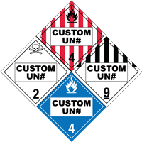 Custom Printed<br />Placards
