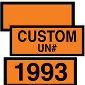 DOT Orange Panels<br />& Numbers