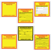 Hazardous<br />Waste Labels