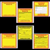 Hazardous<br />Waste Labels