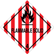 Class 4<br />FLAMMABLE GAS<br />Worded Label<br />500/roll