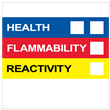 """Right To Know Label<br />w/o Personal Protection<br />4"""" X 4"""", Paper, 500/Roll"""