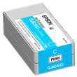 Epson GJIC5(C) Cyan Ink<br />Cartridge for the<br />ColorWorks C831<br />Inkjet Label Printer