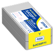 Epson SJIC22P(Y)<br />Yellow Ink<br />Cartridge for the<br />ColorWorks C3500<br />Inkjet Label Printer