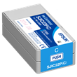 Epson SJIC22P(C)<br />Cyan Ink<br />Cartridge for the<br />ColorWorks C3500<br />Inkjet Label Printer