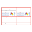 "#3 GlobaLabel<br />8.5"" x 14""<br />GHS Chemical Label Sets<br />w/NFPA Diamond"