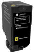Lexmark CS725<br />Yellow High Yield Return<br />Program Toner Cartridge
