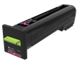 Lexmark CS820<br />Magenta Extra High Yield<br />Return Program<br />Toner Cartridge