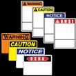 STOCK<br />OSHA & ANSI<br />SIGNS